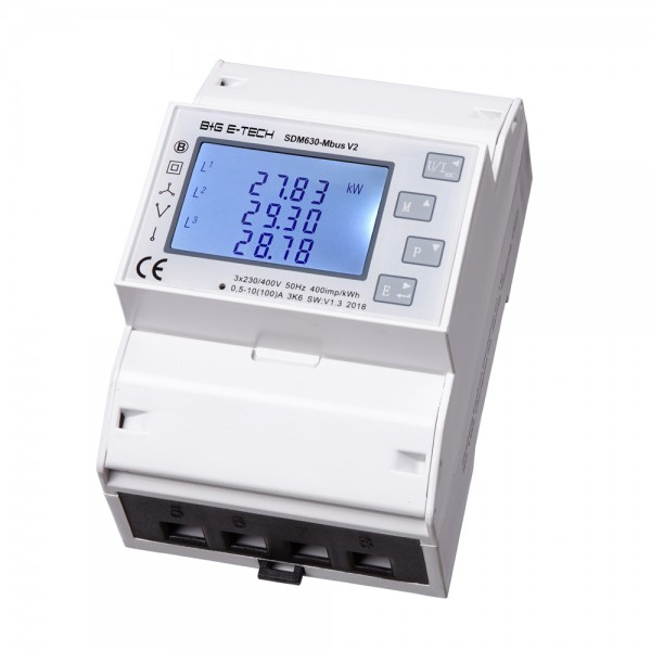 SDM630-MBus zweirichtungs Drehstromzähler (gebraucht)