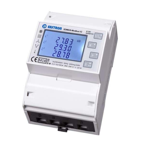 SDM630Modbus V2 MID - 3P 4TE MuFu LCD DSZ