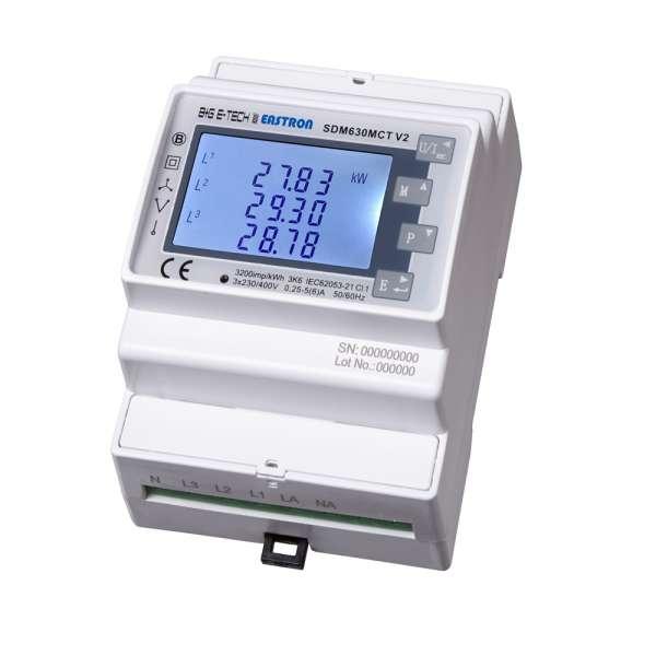 SDM630CT-MBus V2 - MuFu- Wandlermessgerät für Hutschiene