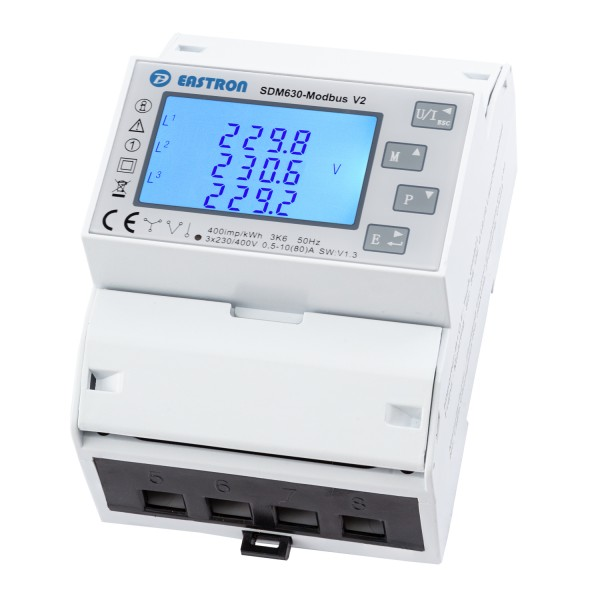 SDM630Modbus V2 - 3P 4TE MuFu LCD DSZ