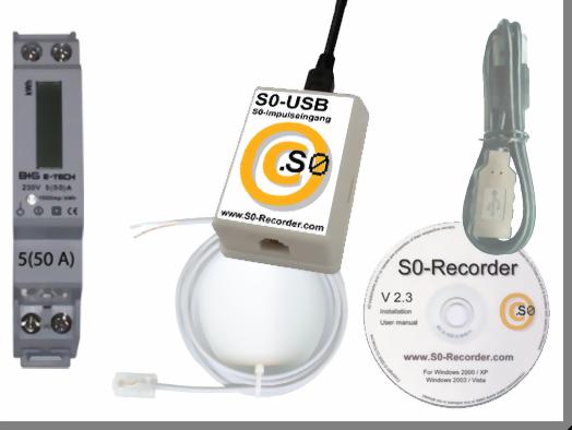 S0-Recorder für Stromzähler