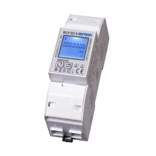 SDM230DR - 1P 2TE LCD Wechselstromzähler