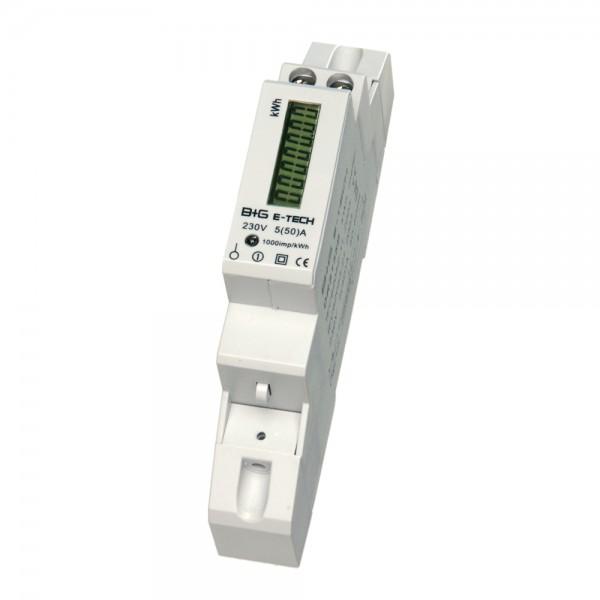 DRS155DC - 1-Phasen Wechselstromzähler für DIN Hutschiene