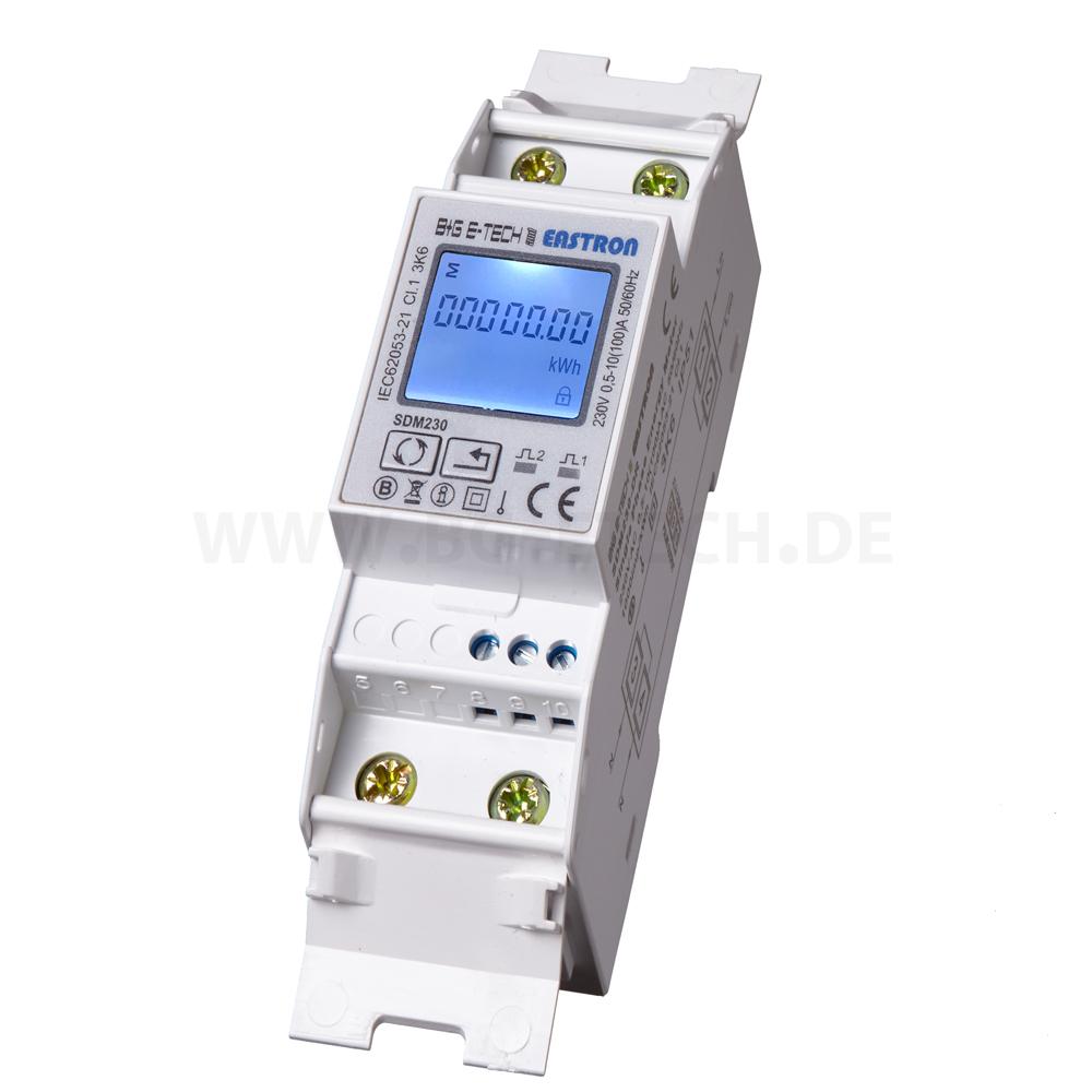 B+G e-tech Multifunktions Wandler Drehstromzähler S0 RS485 SDM630M-CT-V2