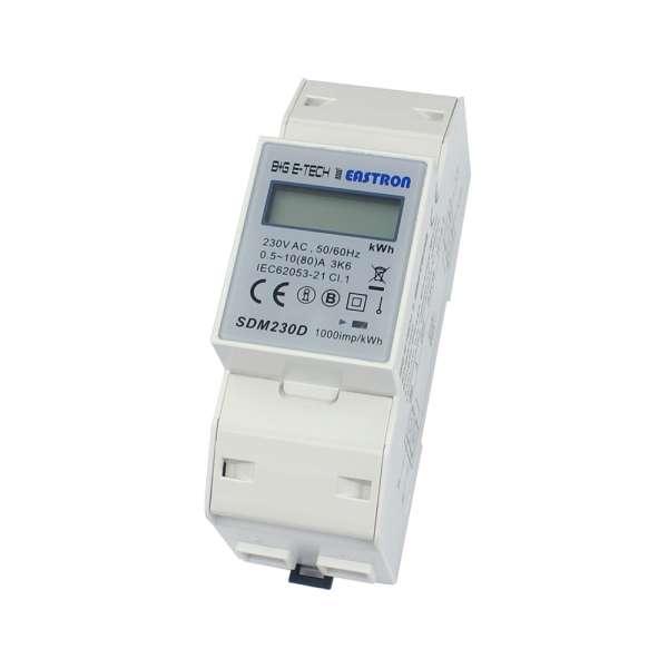 SDM230D - 1P 2TE LCD Wechselstromzähler
